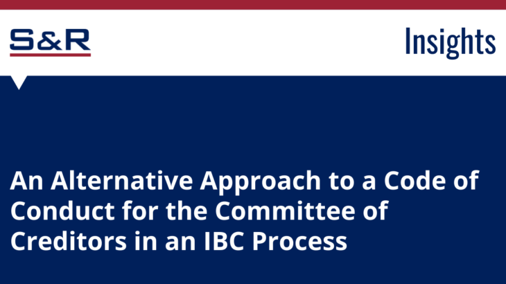 committee of creditors ibc process